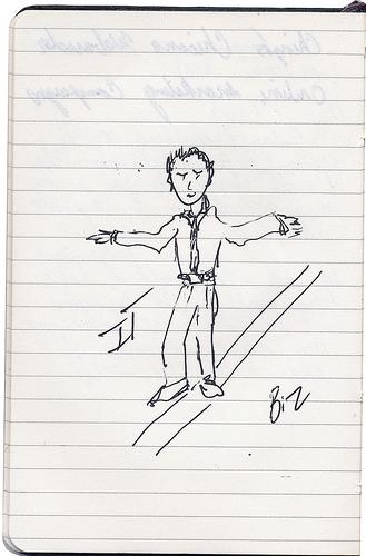 Sketch by Jesse Luna, straddling IT and Biz
