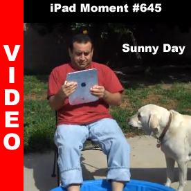Apple iPad Moment #645 - Sunny Day