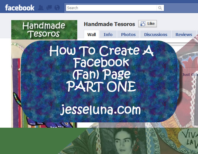 How To Create A Facebook (Fan) Page