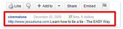 site-link-in-description-youtube
