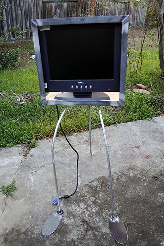 Walking TV