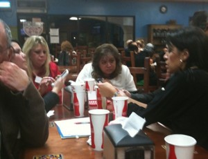Tweetup at Bobbi's Mexican Food restaurant in Camarillo, CA