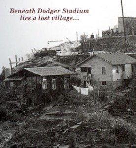 Chavez Ravine before Dodger Stadium