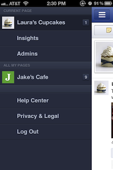 View your Facebook pages using the new Pages Manager