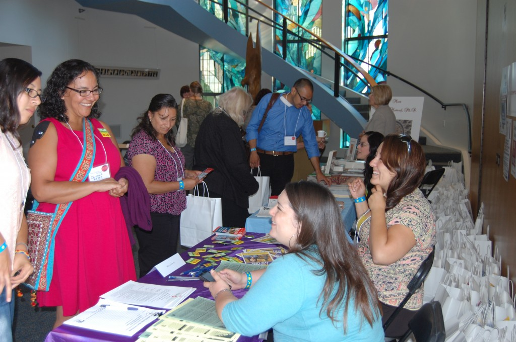 Ventura County Women's Forum - SEIU 721 table