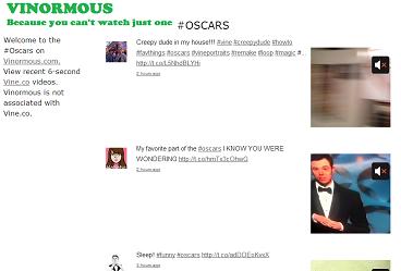 Vinormous - Oscars