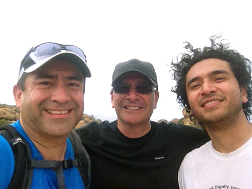 trail run training with Marcos and Canek- Bandit Ultra Trail Run