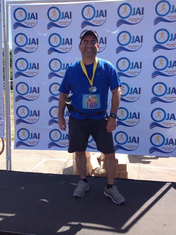 Ojai Half Marathon - Jesse Luna