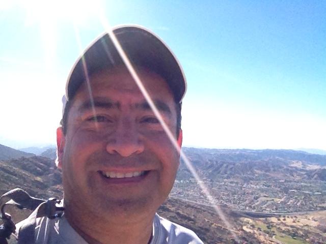Jesse Luna at Rocky Peak