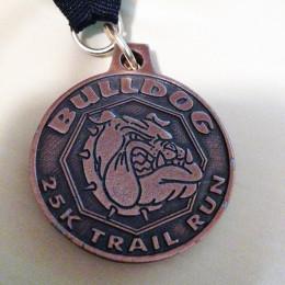 bulldog25k-medal