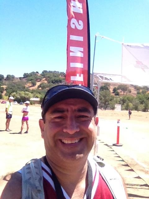 Finish line, Bulldog 25K!