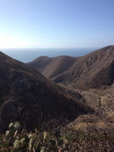 View from the Loop Trail in Point Mugu State Park