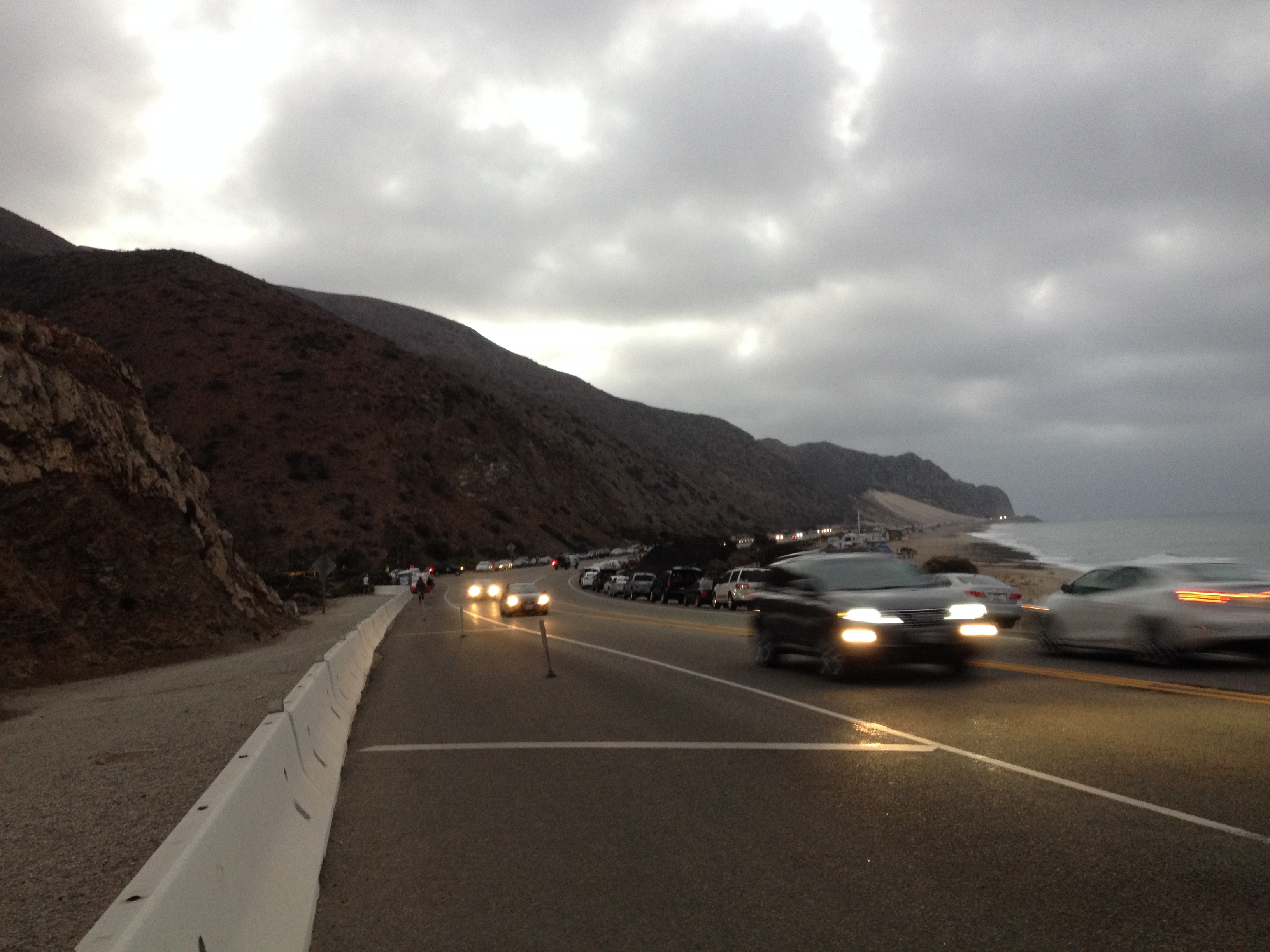 parking at XTERRA Point Mugu Trail Race