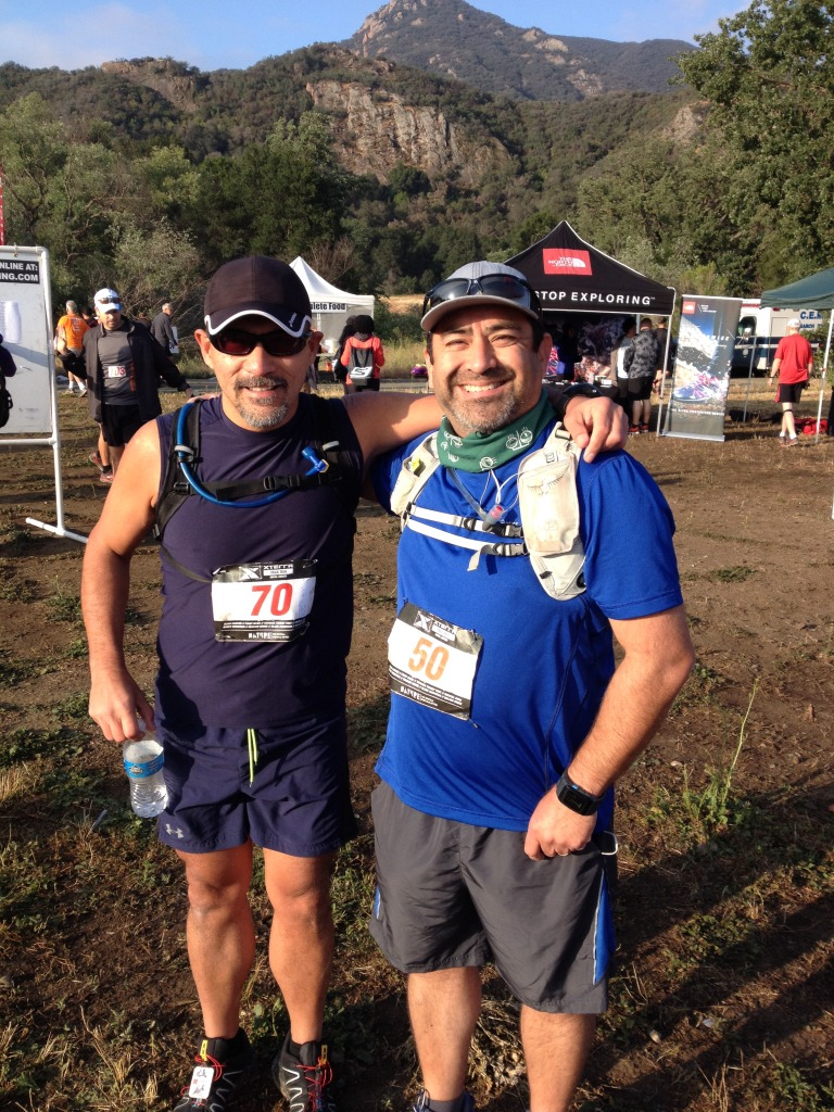 Pre-race meetup with Marty Barrios