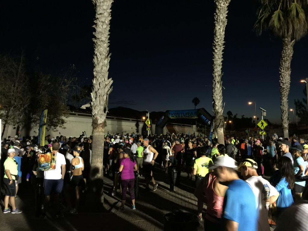 Start of full marathon