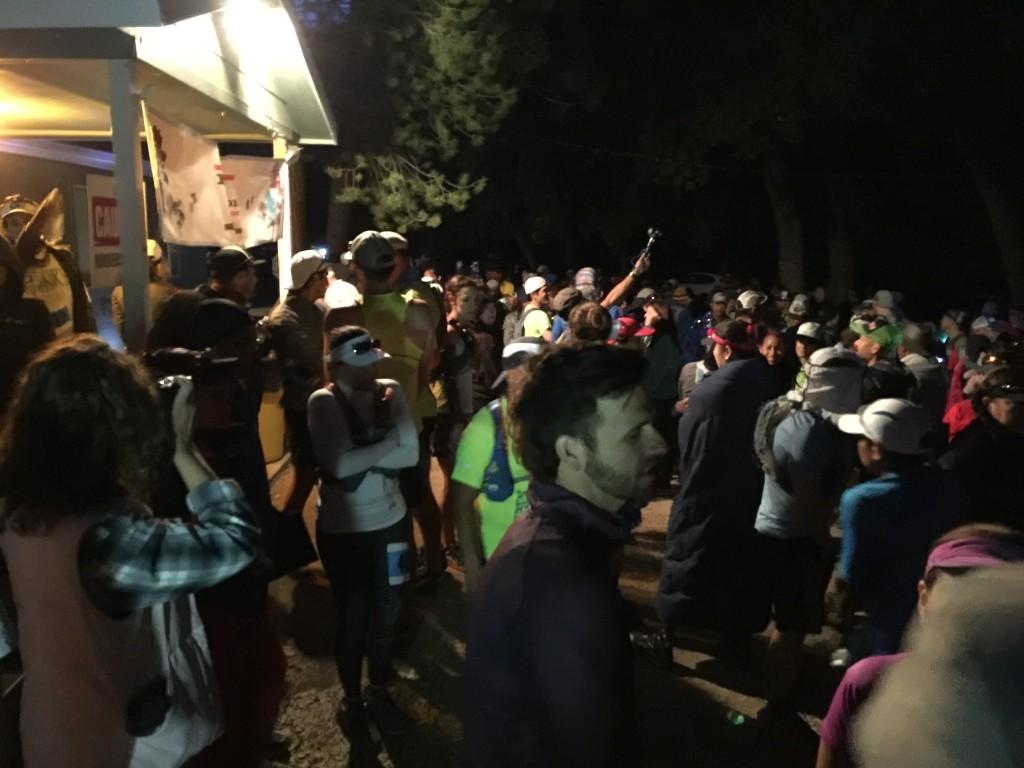 Scene at race start 1