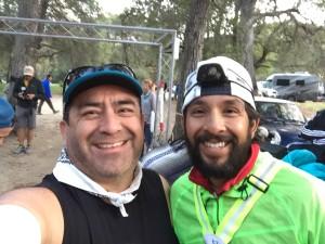 Pre-race selfie with Raul