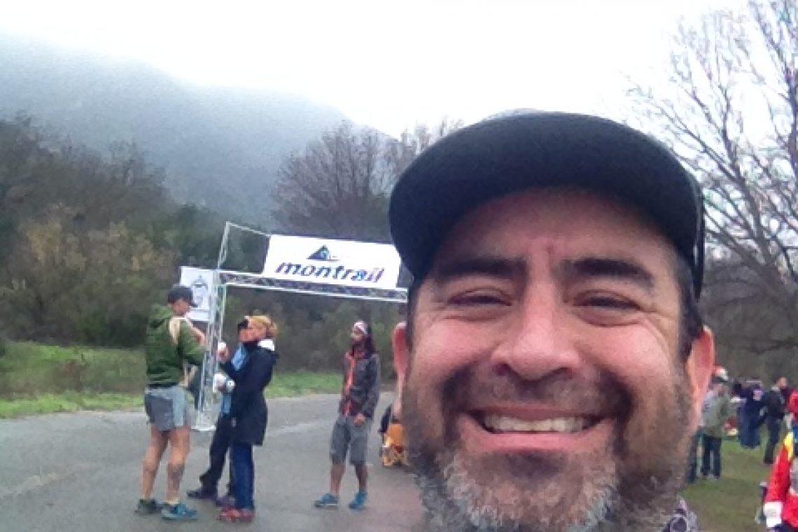 Finish line at Sean O'Brien Marathon 2015