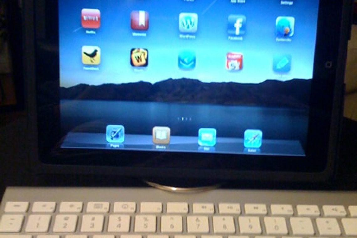 Belen's preferred iPad setup