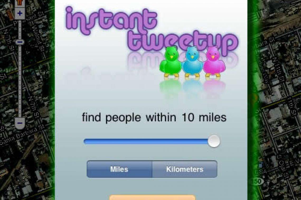 Instant Tweetup