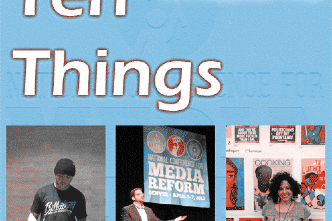 Ten Things I learned at #NCMR13
